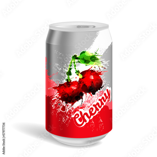 Aluminium soda can