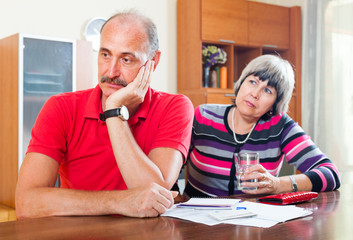 Mature couple did not have the money to repay the loan