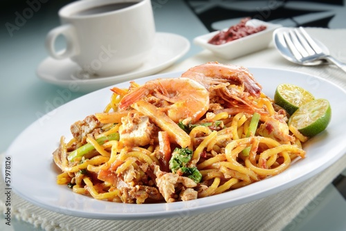 Penang Fried Prawn Noodle