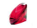 red ruby gem stone crystal poster