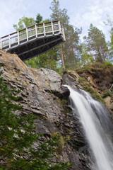 Plodda Falls observation platform