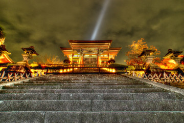 Kiyomizudera Temple Saimon Gate 清水寺 西門