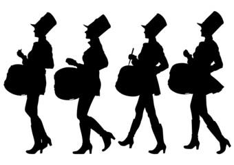 Drums girls