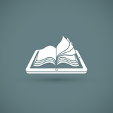 Reading books on PC tablet