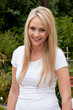 Beautiful casual blond woman