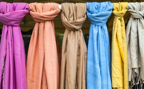 Series of pashmina wool
