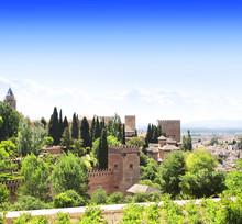 Château Alhambra, en Espagne