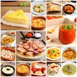 Collage of traditional Spanish recipes - 57984130