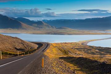 North Iceland Sea Lagoon Landscape