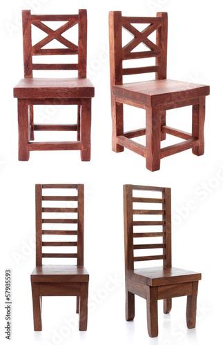 antique wooden chair