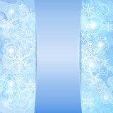 abstract snowflakes texture