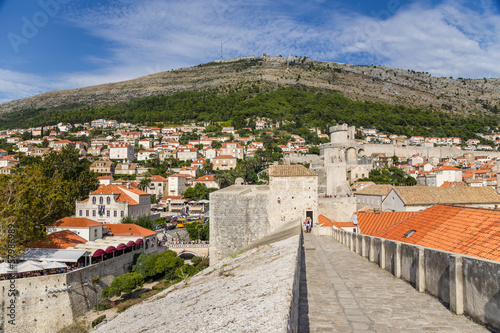 Fortress and old Dubrovnik