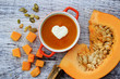 Pumpkin soup - Traditional seasonal pumpkin soup