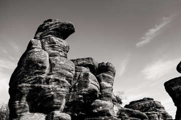 rock formation canyon