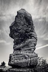rock rising