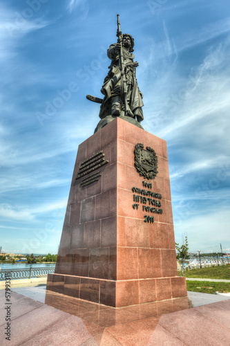 Monument to the founders of the city of Irkutsk