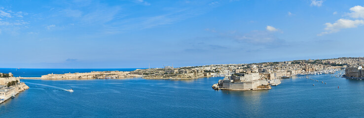 Grand Harbor In Malta