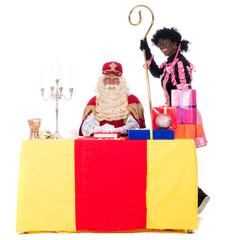 Sinterklaas is working