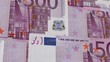500 Euro Bills Fly (HD Loop)