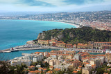 Nice - view from Fort du Mont Alban