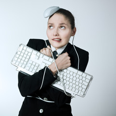 woman computer problems