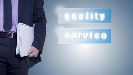 calidad y servicio