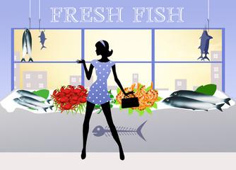 seller of fish
