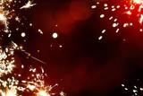 Fototapety Art magic Christmas firework light  background