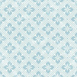Geometric floral pattern in retro style