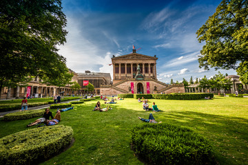 Enjoying the Museum Island in Berlin