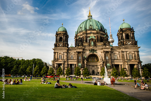Berliner Dom (Berlin Cathedral) in a Lustgarten of Berlin, Germa