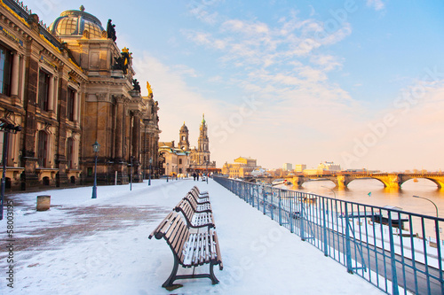 Winter in Dresden