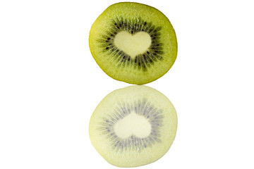 Kiwi con cuore
