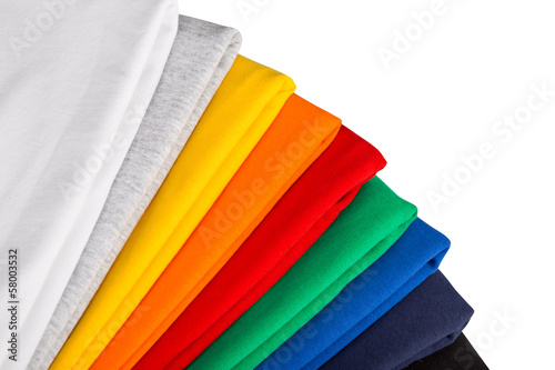 canvas print picture colorful t-shirts