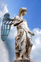 St. Michael - Statue By Raffaello da Montelupo