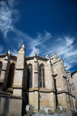 chatedral in Limoux, France