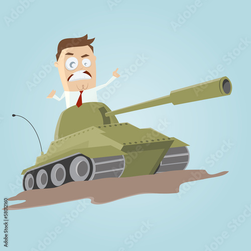 business panzer angriff