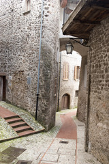 Scheggino town, Umbria