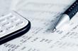 Leinwanddruck Bild - Financial accounting