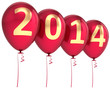 New 2014 Year balloons party decoration classic