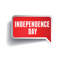Independence day label
