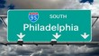 Philadelphia - Interstate 95 Sign Time Lapse