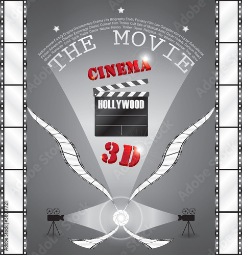 3D Movie in Cinema