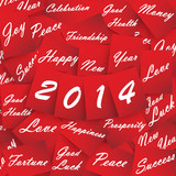 2014 Happy New Year Red Papers
