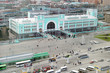 Railway station in Novosibirsk city, Siberia, Russia - 58020941