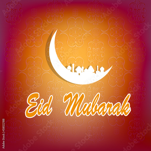 Eid abstract background.Ramadan Kareem