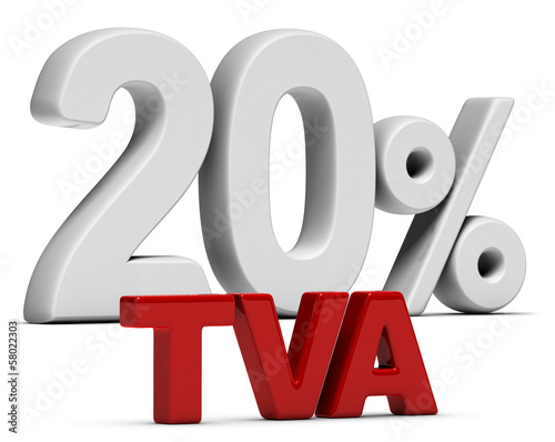 TVA Taux Normal 20 Pourcent - T V A 20%
