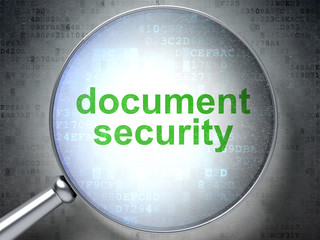 Safety concept: Document Security with optical glass