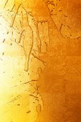 金箔と墨の柄