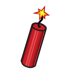 dynamite isolated illustration